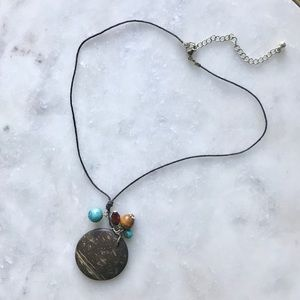 Wooden Detail Necklace